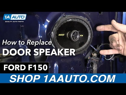 How to Replace Install Door Speaker 98 Ford F150 Buy Quality Auto Parts from 1AAuto.com