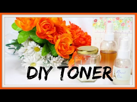 DIY TONER FOR SENSITIVE, DRY AND ACNE PRONE SKIN / Green beauty