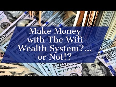 MCA Rep Reveals Shocking Truth About WiFi Wealth System! | What is WiFi Wealth System? 2018