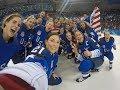 USA Womens Ice Hockey Team Road To The Gold 2018 Winter Olympics