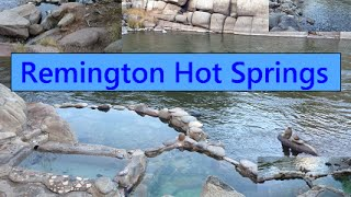 Remington Hot Springs in Sequoia National Forest