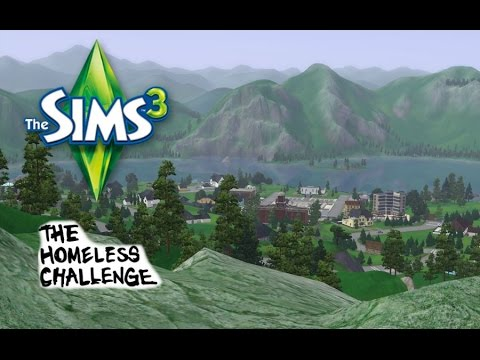 The Sims 3 - Xbox 360 - Homeless Challenge - Create-A-Sim - [Part 1]