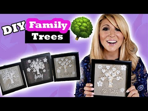 DIY Shadow Box Family Tree Tutorial - Episode 17