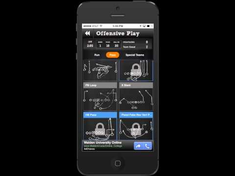 Vs Football - available for free for iPhone and Android - Video of Game Play - by Engage Mobile