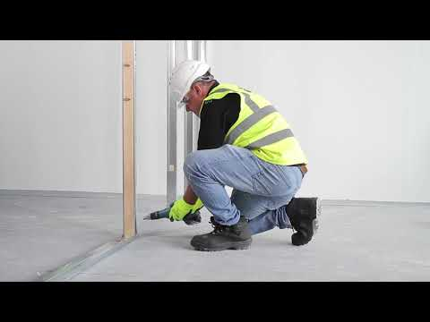 How to install a stud frame door with Tradeline Drywall