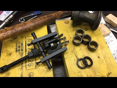 Removing the bearings from a Johnson 30 HP lower unit