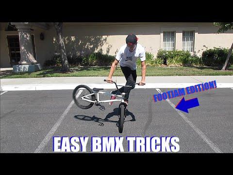 Easy BMX Tricks  - Footjam Edition!