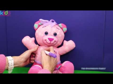 Kids Toys 2017 - DOODLE BEAR The Orginal Doddle Bear Write On Markers YouTube Toy Video -  Toys For