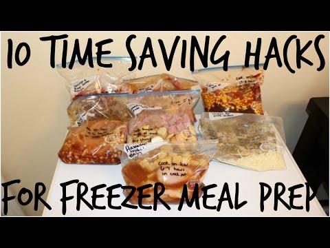 7 CROCKPOT FREEZER MEALS UNDER 2 HOURS |10 TIME SAVING HACKS FOR FREEZER MEALS