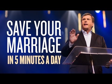 MARRIAGE ADVICE | Save Your Marriage in 5 Minutes a Day with Jimmy Evans