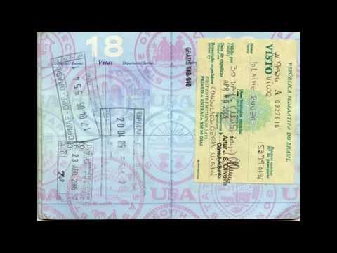 48 Years Of Passport Stamps