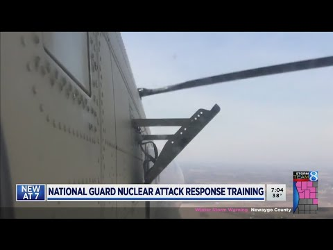 National Guard nuclear attack response training