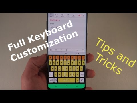 Amazing Keyboard Customizations | Galaxy S8/S8+