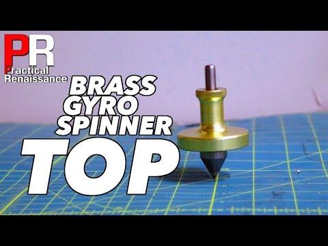 Making a Bearing Driven Brass Top