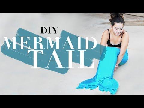 DIY Swimmable Mermaid Tail   DIY   Nava Rose