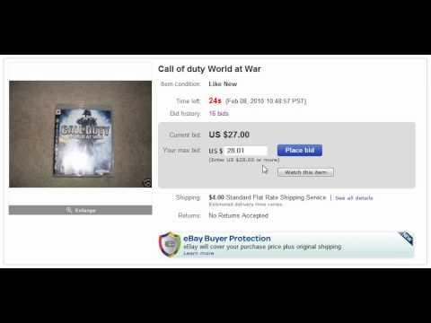 eBay 10sec bidding secret revealed!