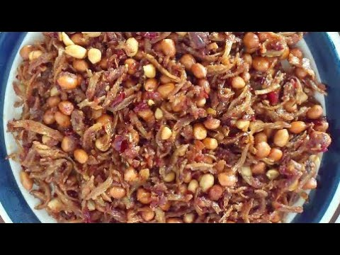 Sambal Ikan Bilis (Anchovies in Chilli Paste)