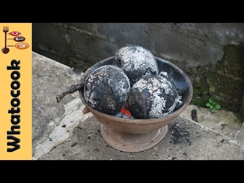 How To Roast Breadfruit With Outside Fire | Caribbean Style