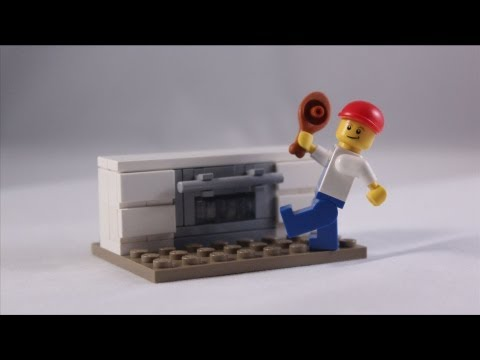 LEGO Tutorial: How to Build an Oven