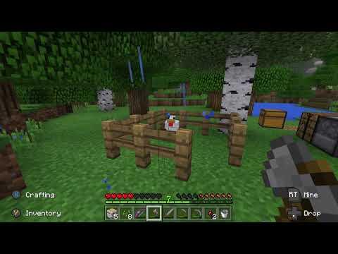 Minecraft Xbox 1 - New Survival | (3) MOAR CHICKEN BABIES!