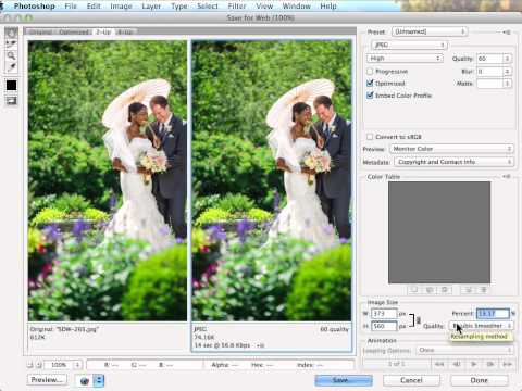 How to Resize Images for the Web to Get a Smaller File Size