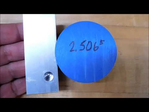How to Set a Flycutter to Machine a Specific Diameter