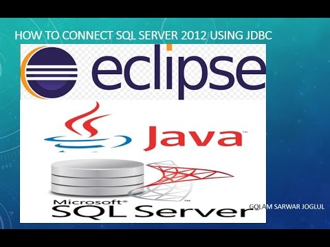 Selenium WebDriver - Connect SQL Server 2012 Database  with JDBC