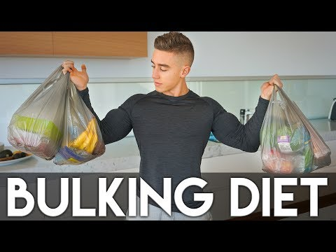 MY BULKING DIET: Meal By Meal | Shopping and Cooking- Zac Perna