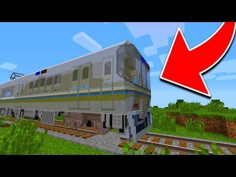 WORLD'S MOST DANGEROUS MINECRAFT TRAIN!