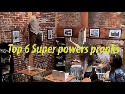 Top || Super Power Pranks || Compilation (टॉप 6 सुपेर पावर  मजाक कुछ लोगो के साथ)