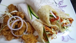 Zinger paratha roll recipe by aamna