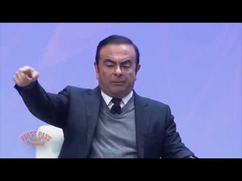 Nissan CEO Detroit Auto Show at AutoMobili-D Exposition