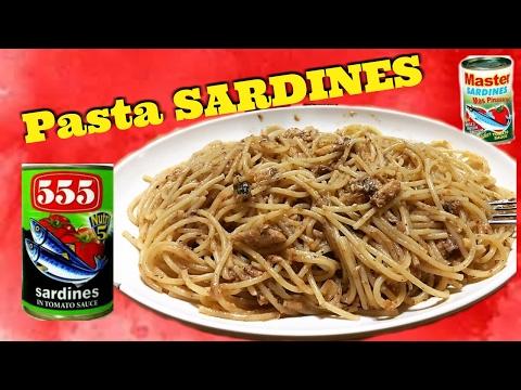 Spaghetti Pasta Sardines