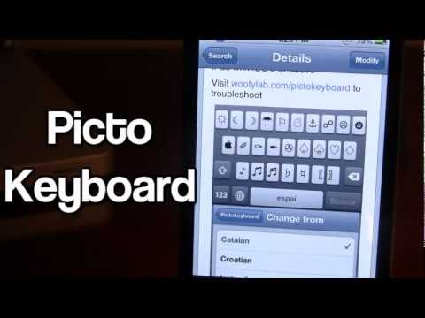 Pictokeyboard - Unicode Symbols for iPhone (Cydia Tweak)