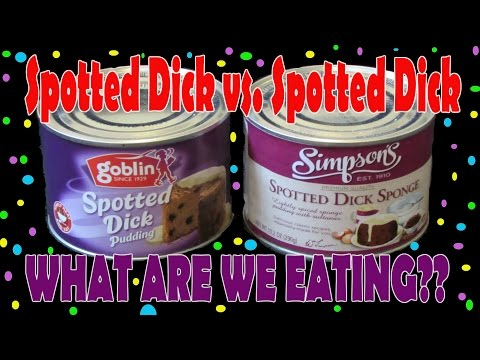 SPOTTED DICK - To Eat Or Not To Eat? - WHAT ARE WE EATING?? - The Wolfe Pit