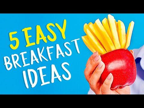 5 easy & delicious breakfasts