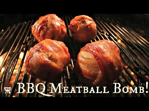 How To Grill Bacon Bombs | Bacon Meatballs On The Weber Grill