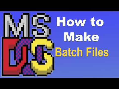 Batch File Programming - The Basics With Examples