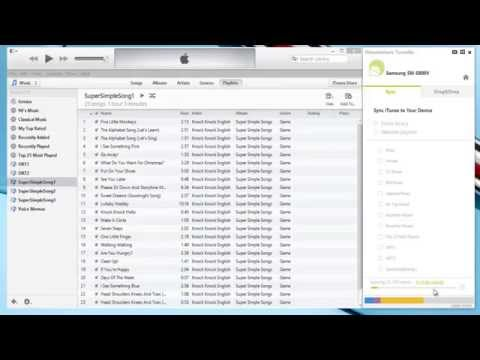 Sync Android with iTunes - sync/transfer iTunes content to Samsung/Motorola/LG/HTC Android device