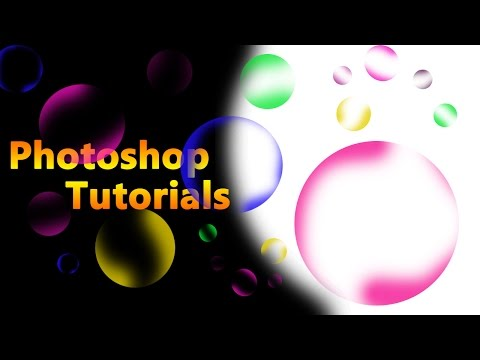 How to Create Bubbles In PHOTOSHOP...?