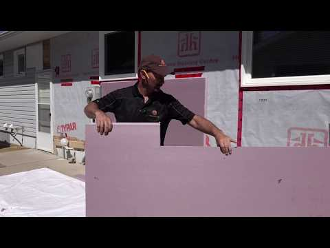 How To Install Styrofoam Insulation On A Home's Exterior