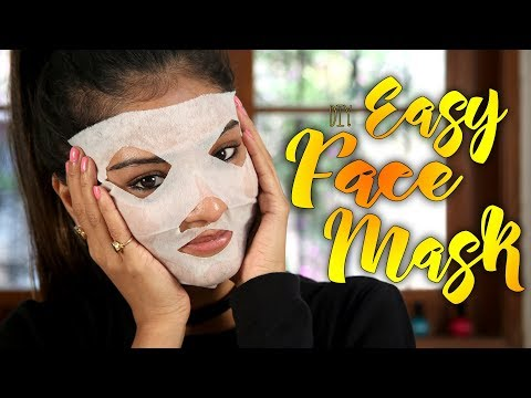 Diy Easy Face Mask | Face Mask Tutorial | Skincare Tutorial | Foxy Makeup Tutorials