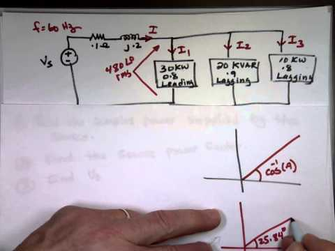 Complex Power and Power Factor Example