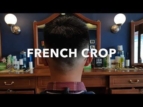 Jajal Gaya Rambut Klasik French Crop