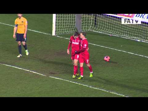 Oxford United vs Charlton Atheltic 0-3, FA Cup Third Round Proper 2013-14 highlights