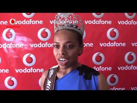 2017 Vodafone Hibiscus contestants Visits Vodafone Fiji Headquarters