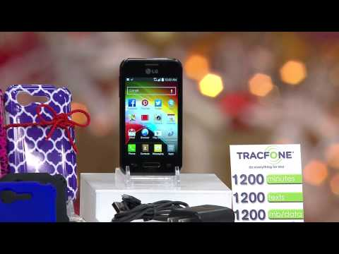 LG TracFone Prepaid Android w/ 1200 Minutes Text & Data w/ Protection Plan with Rick Domeier