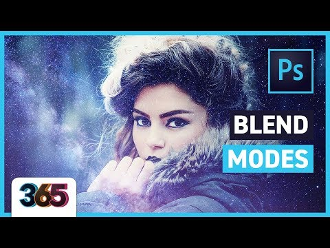 Blend Modes in Photoshop CC   tips & time-lapse #22/365 Days of Creativity