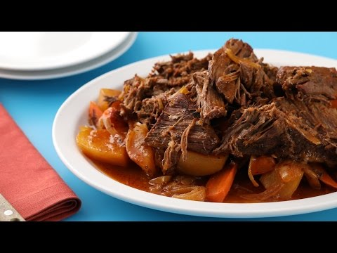 Slow Cooker Pot Roast- Martha Stewart