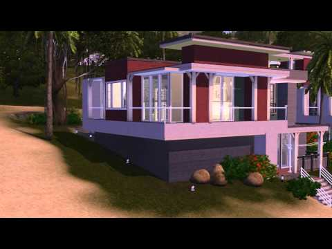 The Sims 3 House building - Chrills Dream